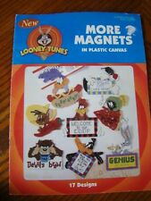 Looney Tunes More Magnets in Plastic Canvas Leisure Arts 1806 17 Designs 1998