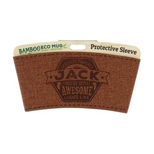 History /& Heraldry Bamboo Eco Mug Name Wrap Jack 225010286