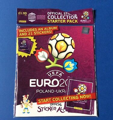 Album Euro 2012 Polonia-Ucraina con set completo panini