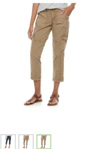 Women-039-s-Sonoma-Cargo-Capri-Pants