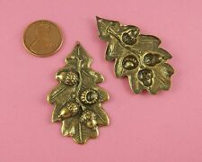 ANT BRASS ACORN LEAF AND BRANCH DROP - 1 PC(s)