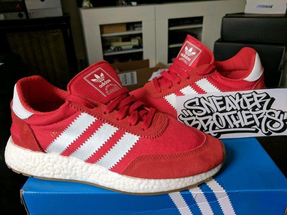 Adidas Originals Iniki Runner Boost Red Running Red White Gum Core Bottom BY9728