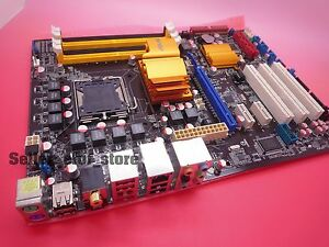 Details about *NEW unused ASUS P5QL-E Socket 775 ATX MotherBoard Intel P43