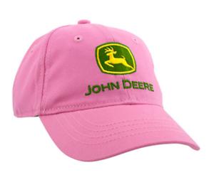John Deere Girl Toddler Logo Cap Pink #LP51353