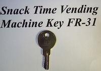 Vendcraft Dundas Snack Time Front Drop Vending Machine Key Fr-31