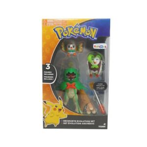 Pokemon decidueye Evolution Set TOYS R US Exclusive Figure 3 Set