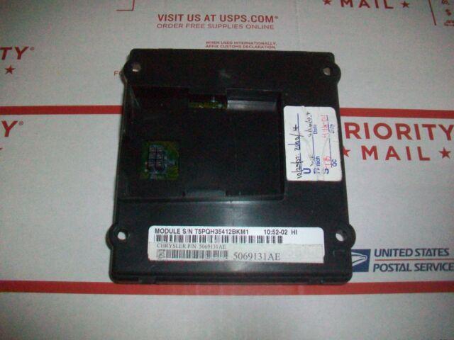 Gpu 02 03 04 05 Jeep Liberty Bcm Body Control Module Pt 5069131ae Refurbished