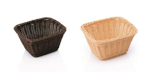 Gastronormkorb GN 1//6-17,6x16,2 cm Bäckerkorb Brotkorb Beige oder Braun