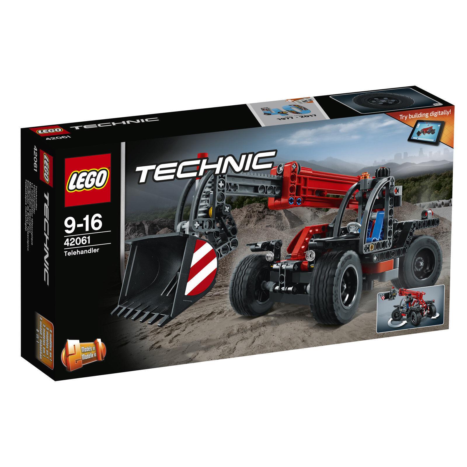LEGO Technic Teleskoplader 42061 NEU OVP