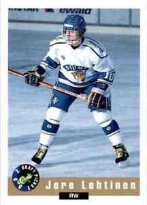 1992-93 Classic Jere Lehtinen #31