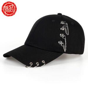 Men-Women-Iron-Rings-Cotton-Baseball-Cap-Adjustable-Snapback-Gorras-Hat-Cap