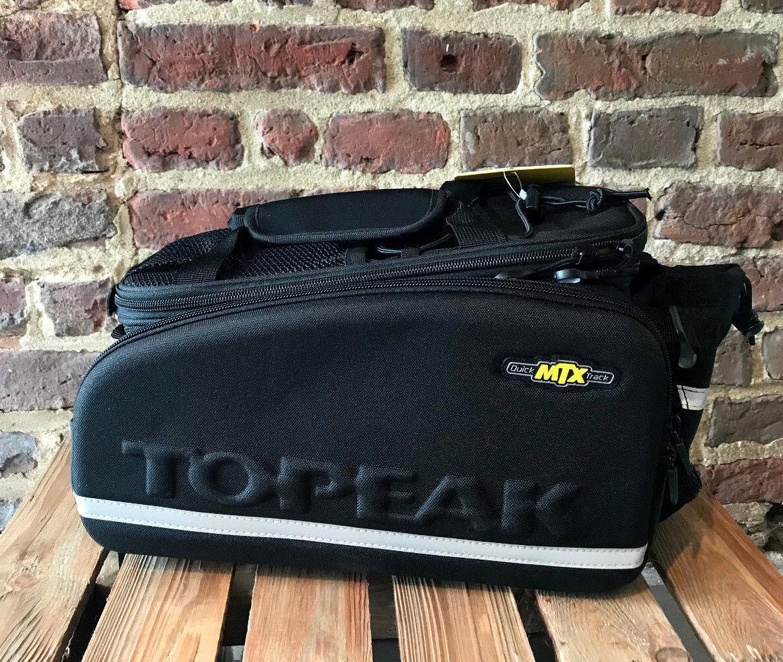 Topeak Mtx Trunkbag Dx Bolsa Equipaje Volumen 12,3l Bolsillos Laterales