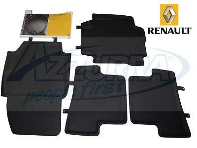 Gledring 0028 Set di tappetini in Gomma per Renault Captur II 1//2020 Profilo a T 4 Pezzi + Clip di Montaggio