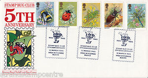 1985 Insects - Stamp Bug Club, High Wycombe Official