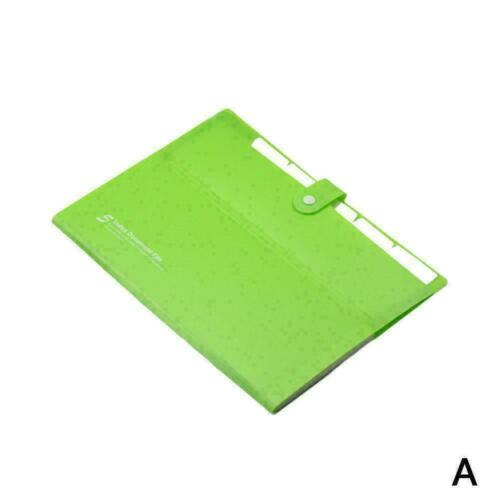 Kunststoff Schulordner Fall Papier Organizer Dateiordner Orgel Dokumententa H2Z2