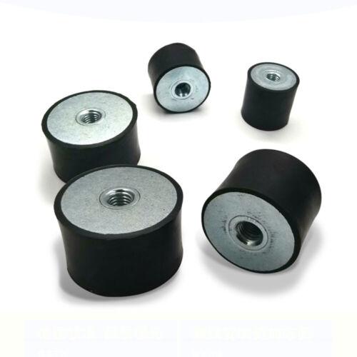 M10 Female Thread Rubber Mount Ø40mm 50mm Anti Vibration Bobbin Isolator Damper