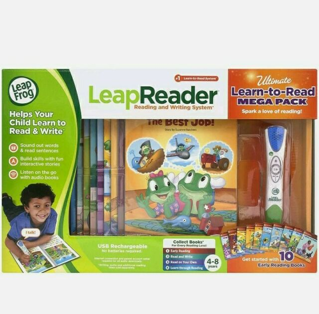 LeapFrog LeapReader System Learn-to-Read 5-Book Bundle Pack