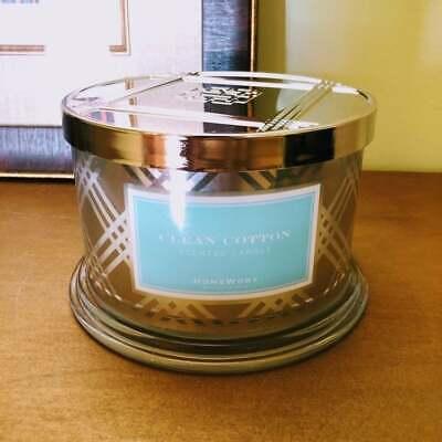 Slatkin Clean Cotton 4-Wick CandleSpringLaundryHomeSummer Breeze