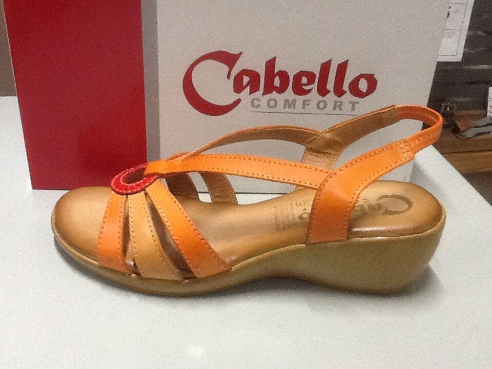 ladies Sandalee Cabello 754 orange Größe 41/10