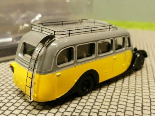 1//87 Norev Citroen U23 Autocar Bus 1947 gelb grau 159925