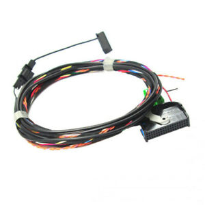 for radio vw rcd510 9w2 9w7 bluetooth module wiring harness cable