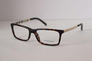 6bcec84961ed BURBERRY B 2159 Q 3002 Eyeglass Frames BROWN GOLD 52 16 140 NEW