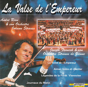 CD-12T-ANDRE-RIEU-LA-VALSE-DE-L-039-EMPEREUR-DE-1998-LASERLIGHT-DIGITAL