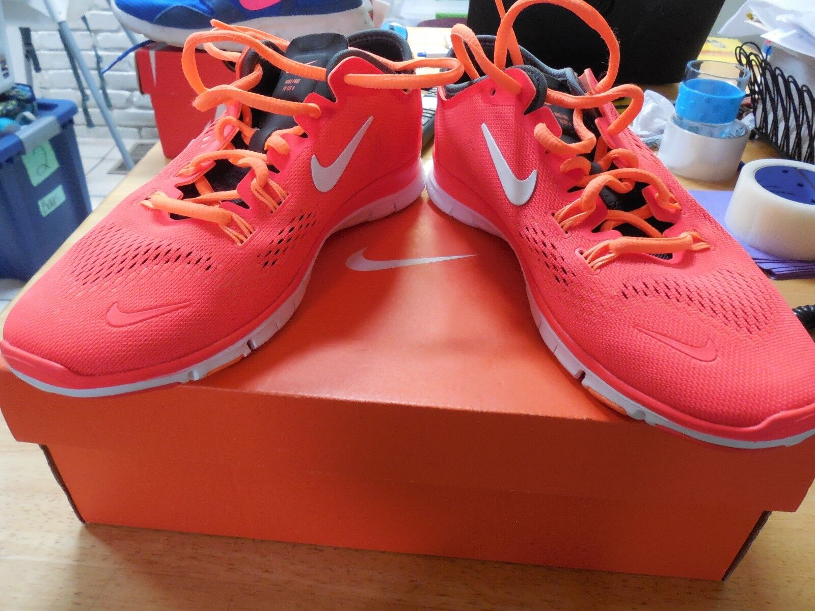 Nike Free 5.0 629496-618 TR Fit 4 Crimson Trainers Running Shoes Women's Sz 7.5 Cheap women's shoes women's shoes