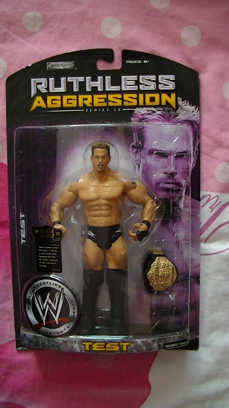 Figurine de catch WWE WWF ECW neuve de collection Test