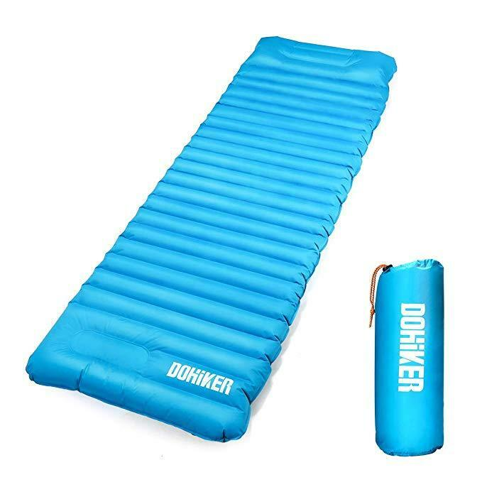 Dohiker Inflatable Sleeping pad, Ultralight Mat, Camping Mattress, Compact.....
