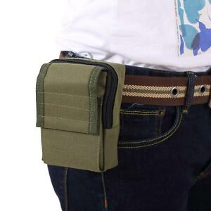 Military-Hook-Loop-Zippered-Bag-Durable-Outdoor-Investigate-Tool-Pouch-Small-Bag