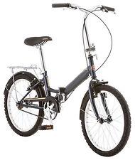 Schwinn 20 inches Unisex Hinge - Steel Frame 1 Folding Bike Bicycle - Grey
