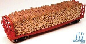 Pulpwood Load - For Atlas HO Pulpwood Cars - Chooch Enterprises #7262 vmf121