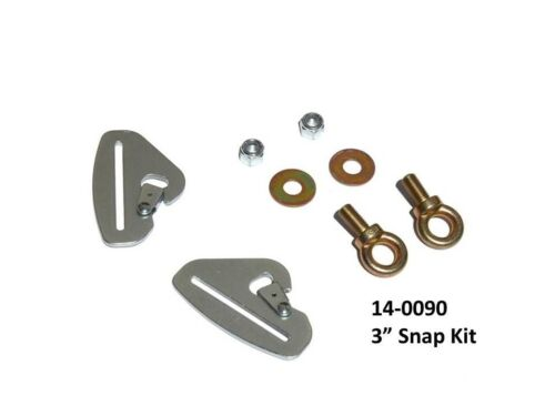 DragonFire Racing Quick Release Harness Mounting Kits 3in Snap Kit 14-0090