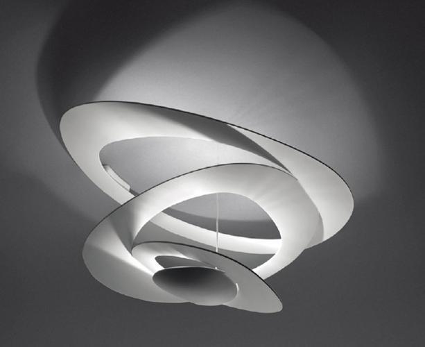 Ue- Artemide Pirce Mini - Ceiling -halo   Weiß-1247010A - Caja 78x72x37 - New