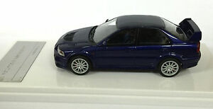 1/43 WIT'S W215 MITSUBISHI LANCER EVOLUTION VI GSR IJSSEL BLUE model car