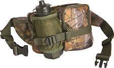 Jack Pyke English Oak Camouflage Stalkers Shooting Bum Waist Bag & Water Bottle