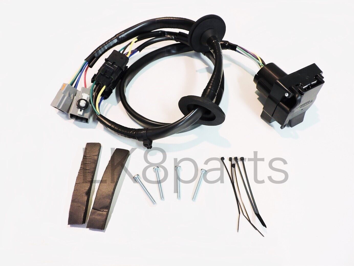 land rover lr4 tow hitch trailer wiring wire harness kit lr4 10 12 land rover lr4 tow hitch trailer wiring wire harness kit lr4 10 12 vplat0013 new