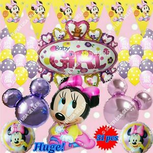Selections Baby Girl Boy Shower Foil Balloons Decor Birthday Party