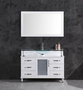 48-034-Vanity-Cabinet-with-Sink-Glass-Top-and-Mirror-White-by-LessCare