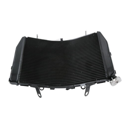 Black Replacement Cooler Radiator Aluminum For YAMAHA YZF R6 YZF-R6 2006-2007