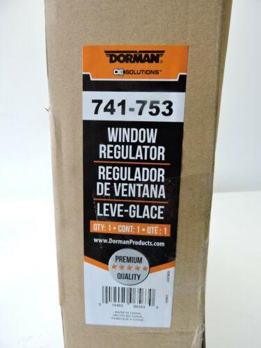 Dorman 741-753 Power Window Motor and Regulator Assembly Front Left NEW!