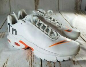 san francisco f87ff 2ee95 Details about Nike Air Max Plus TN SE AR0005-100 White Orange 5.5Y 7 Womens
