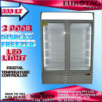 Eurotag 888lt Led Light Commercial Upright Display Freezer Rrp$4999.0 Brand