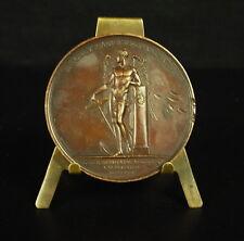 Médaille Louis XVIII Ludovicus 50 mm 69 g par Puymaurin Jeuffroy 1815  Medal