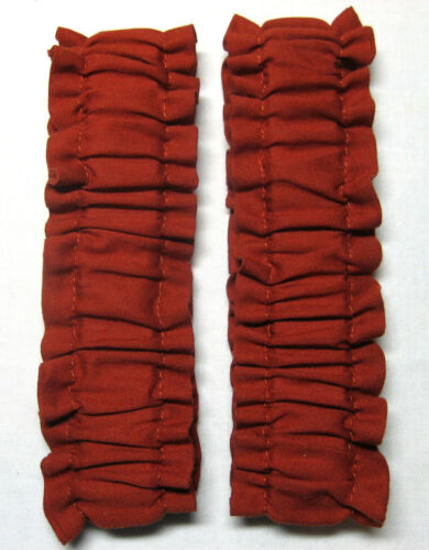 """#1451 Cowboy Old West SASS Arm Sleeve Garters in /""""Lucky Cuss Copper Mine/"""" Pair"""