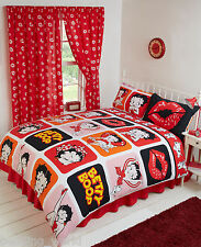 KING SIZE BED BETTY BOOP PICTURE PERFECT PUDGY DOG DOGGY WINK KICK RETRO LIPS