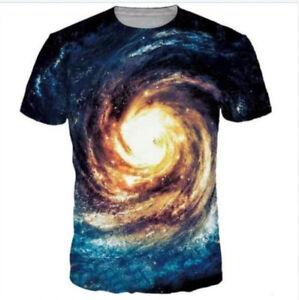 New-Fashion-Men-Women-3D-T-Shirt-Galaxy-Space-Print-Tee-Tops-Casual-Short-Sleeve