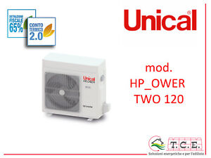 Pompa-di-calore-aria-acqua-full-inverter-splittata-UNICAL-mod-HP-Ower-Two-120