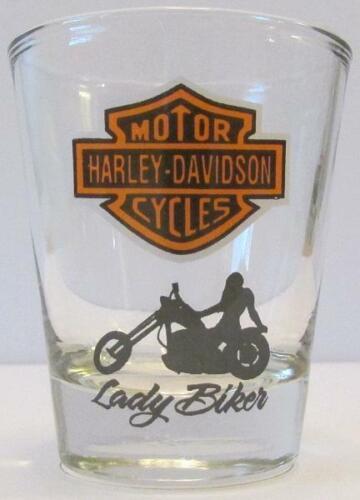 famous brand Very Nice Lady Biker 1 1/2 oz Shot Glass honest ...